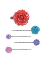 Set of 5 Pieces Hair Pin Clip Brooch - 110