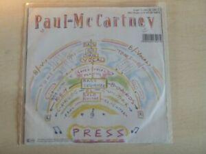 PAUL-MCCARTNEY-Press-It-039-s-not-True-7-034-SINGLE-Vinyl-Parlophone-1C-006-20-1341-7