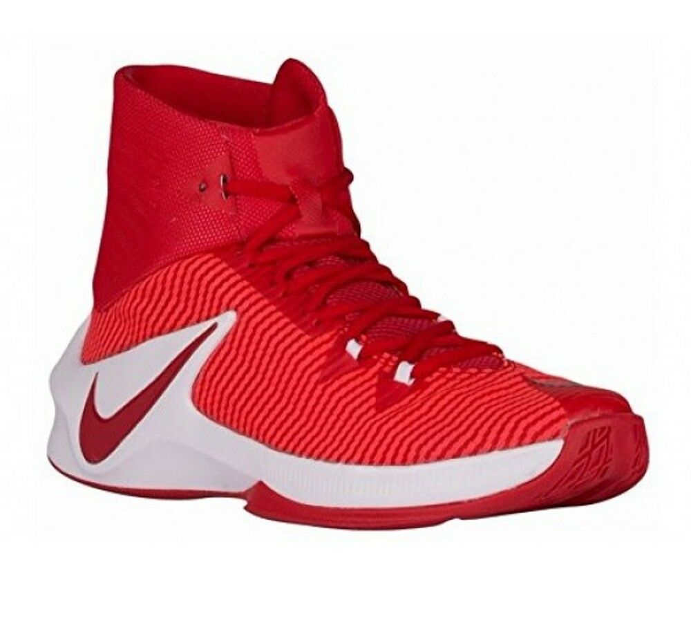 NEW Uomo NIKE ZOOM CLEAR OUT TB BASKETBALL SHOES - 9.5 / EUR 43 - AUTHENTIC RED