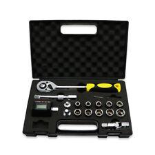 3 30nm Digital Torque Meter 12 Socket Screw Bits Kit Bike Repair Hand Tool