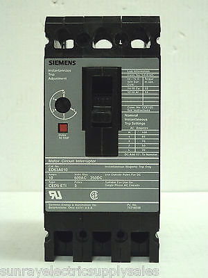 SIEMENS ED63A030L CIRCUIT BREAKER 30 AMP 3 POLE *NEW NO BOX* ED6