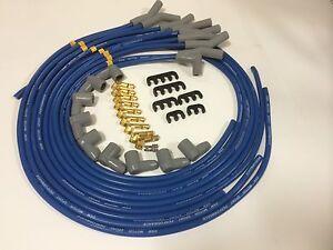 CHRYSLER-S-BLOCK-B-BLOCK-SPARK-PLUG-LEADS-8-5MM-Blue