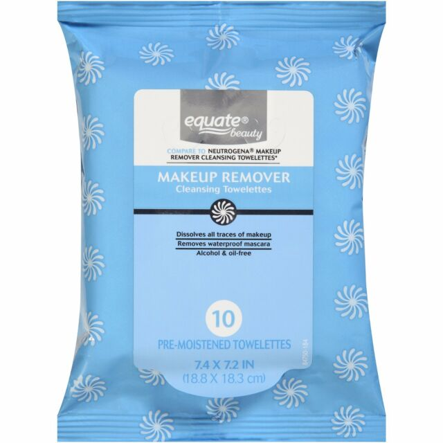 3packs Of 10 Equate Beauty Makeup Remover Cleansing Towelettes Ebay