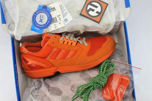 Adidas Zx 8000 Originaux Consortium Invaincu Monora Orange Taille 13 Ans 360983