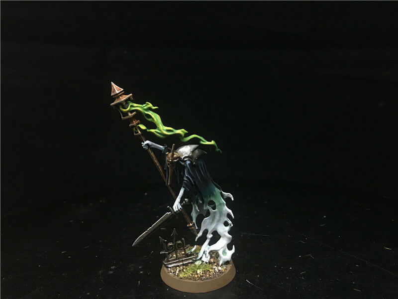 25mm Warhammer Age of Sigmar DPS Painted Nighthaunt A Guardian of Souls AP5536