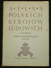 BOOK ATLAS OF POLISH FOLK COSTUME dolny slask Silesian ethnic dress POLAND cap
