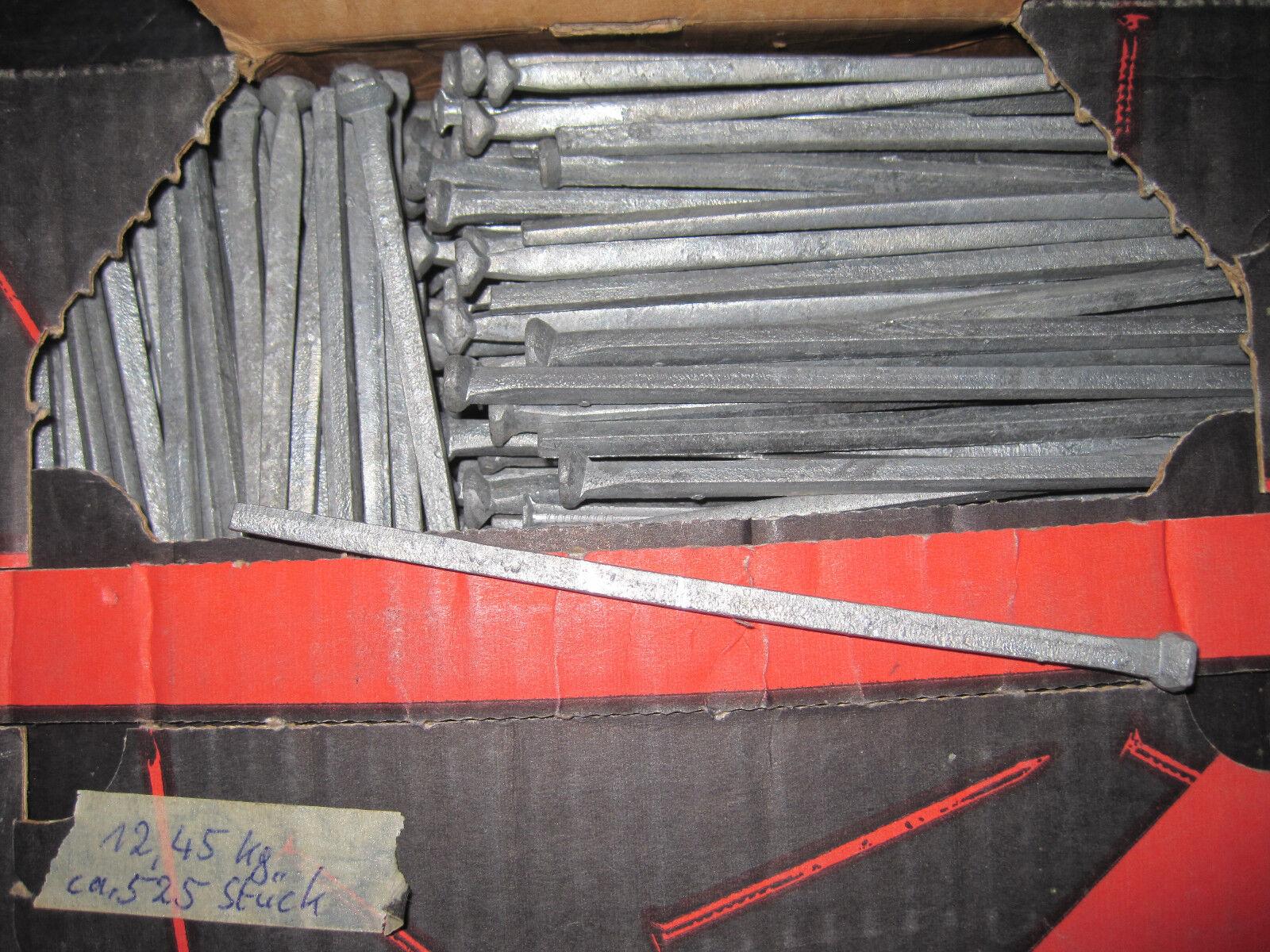 Gunnebo Klippspik geschmiedete und verzinkte kantige Nägel in 150 mm Länge