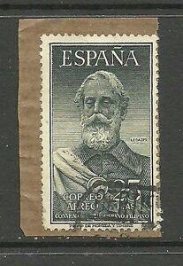 Album-Specials-Spain-Scott-C145-Postal-Convention-VFU-CDS-on-Piece