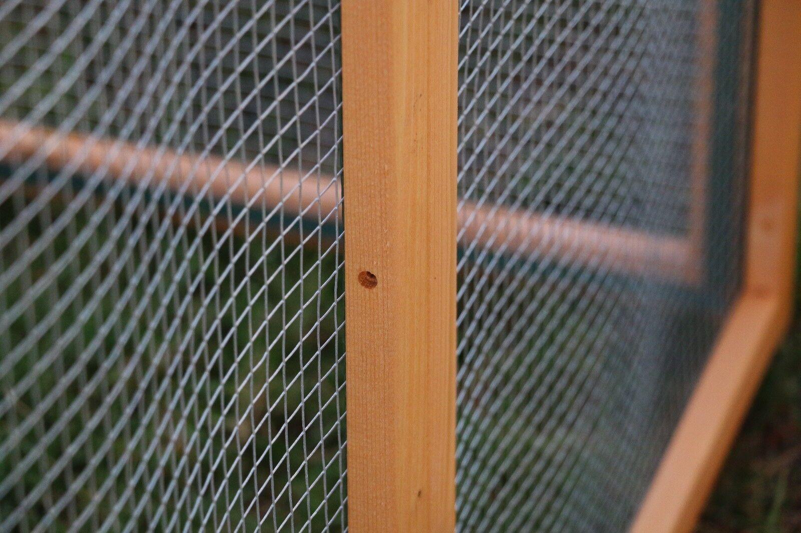 Dog Gate Chicken Coop Rabbit Bunny Hutch Hen House Pet Exercise Pen ...
