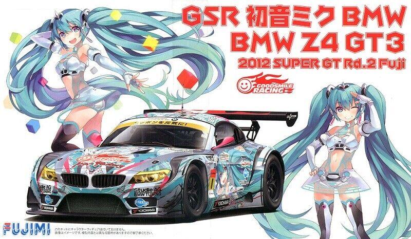 FUJIMI BMW Z4 GT3 GSR 2012 Scala 1 24 Cod.18990