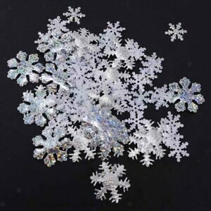 500pcs-Snowflakes-Table-Scatter-Confetti-Decoration-Christmas-Birthday