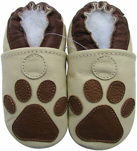 670a8be010425 Details about carozoo paw cream 18-24m soft sole leather baby shoes