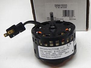 89615000 broan nutone fan motor for 89615 ja2b097n for Nutone replacement fan motors