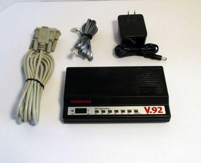 US Robotics USR5686E 56K V.92 Faxmodem