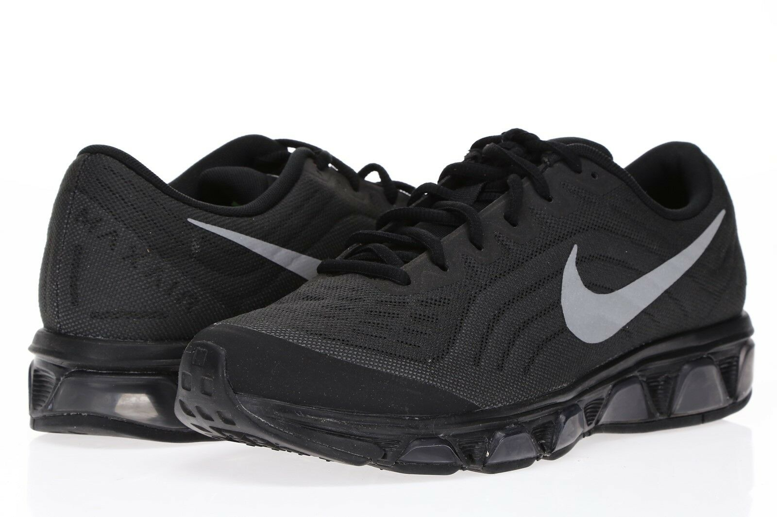 NIKE Mens Max Tailwinds 6 Black Running Sneakers Sz 9