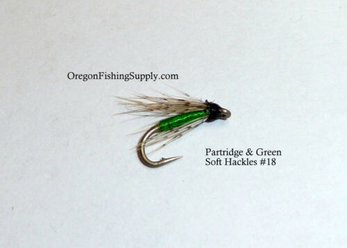 Partridge /& Green Soft HCK #18 FREE Shipping on All Additional Items!! 6 Fly
