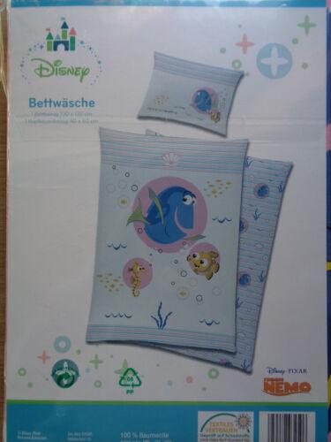 niños-ropa de cama conjunto de cama rosa Nemo * 100x135,40x60 cm OVP nuevo Dori