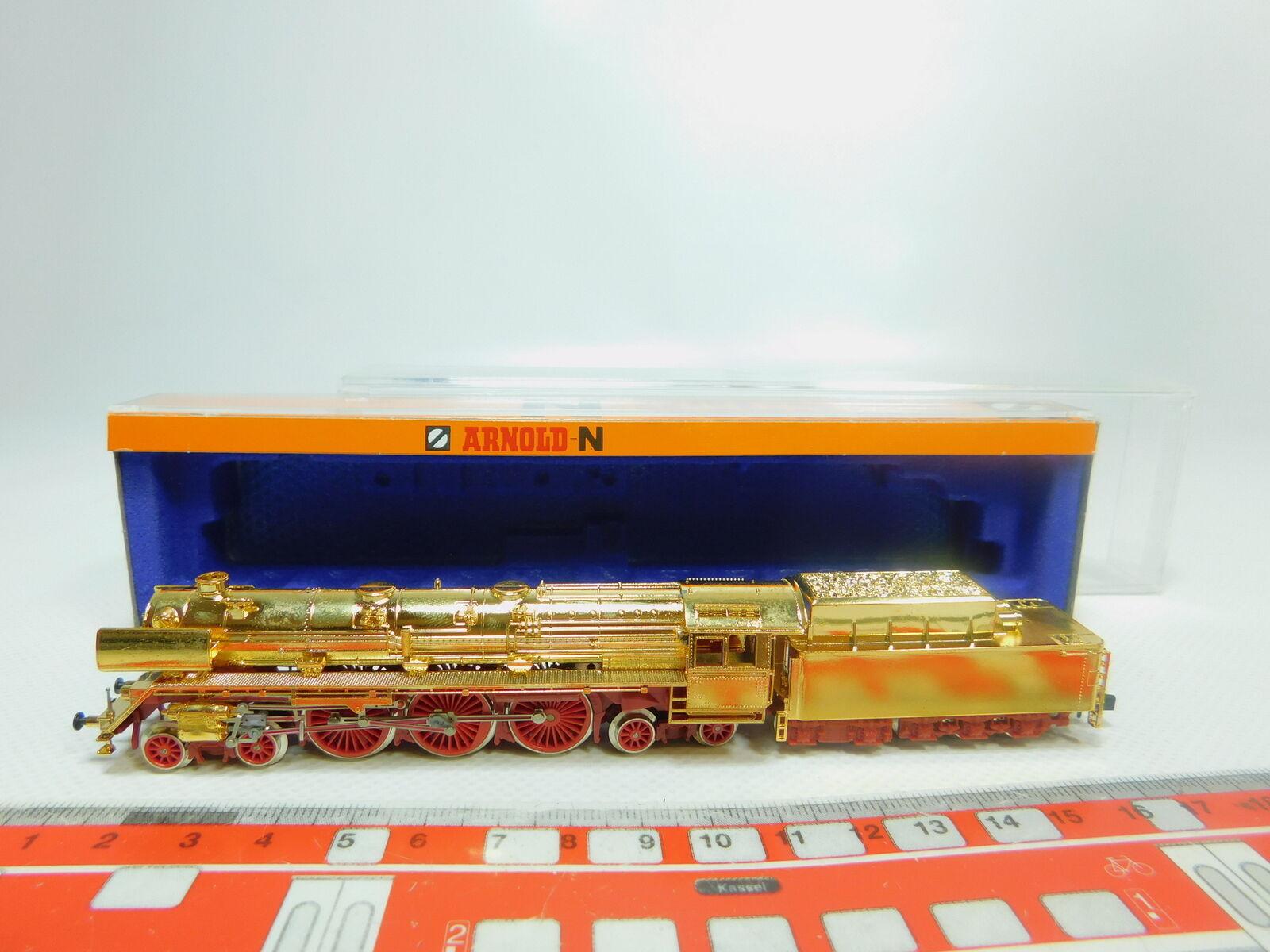 BP385-0,5 Arnold Voie N 2707 Dummy-Dampflokomotive Br 05 Plaqué or, Ovp