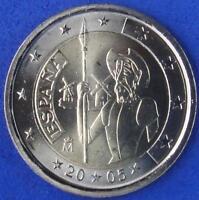 """SPANIEN  -  2 EUROS Gedenkmünzen 2005  """" Don Quixote """""""