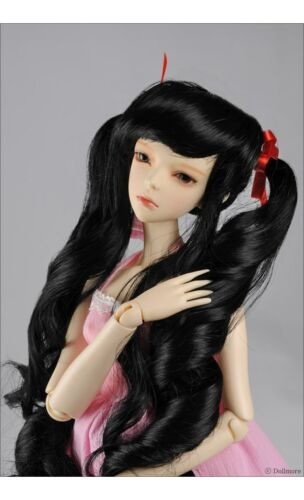 "SD size Dollmore 1//3 BJD dollfie SD wig 8-9 Black /"" Moon G Wig"