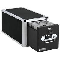 CD Storage Drawer Box Rack File Cabinet Holder DVD Disk Case Space Organizer NEW