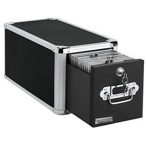 Image is loading CD-Storage-Drawer-Box-Rack-File-Cabinet-Holder-  sc 1 st  eBay & CD Storage Drawer Box Rack File Cabinet Holder DVD Disk Case Space ...