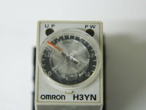 Omron H3YN-4  24VDC Multi Function Timer 0.1s-10min Relay 3A 4TDP