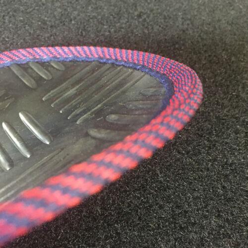 Perfect Fit Durable Black Rubber Car Mats Set for BMW X5 00-07 Neat Trim Edge