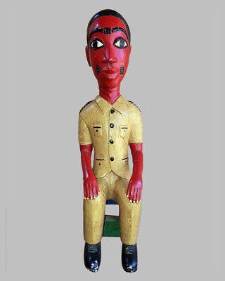 2019 Mode 12) Baule Figur Asie Usu Blolo Bian Colon / Statuette Baoule / Baule Figure