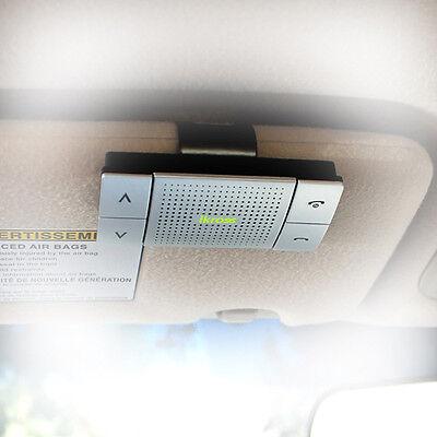 Bluetooth Speakerphone Wireless Handsfree Visor Car Kit For iPhone 6/6s Plus 5S