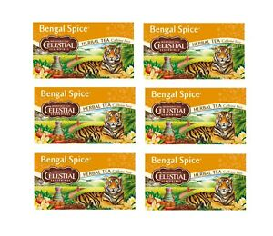 BigPack-6-x-47G-CELESTIAL-SEASONINGS-BENGALE-Spice-the-the-de-Fines-Herbes-120