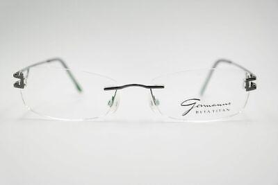 Das Beste Vintage Gomanns 7-3326-5117 51[]17 140 Schwarz Randlos Brille Brillengestell