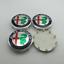 4x60mm Emblem Wheel Center Rim Hub Cap Cover For Alfa Romeo 3 Colors Option Logo