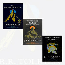Silmarillion,Children of Húrin,Unfinished Tales 3 Books Set J. R. R. Tolkien New