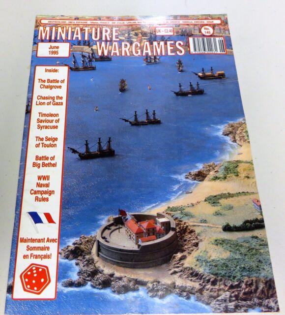 Miniature Wargames Number 145 June 1995  oop SC