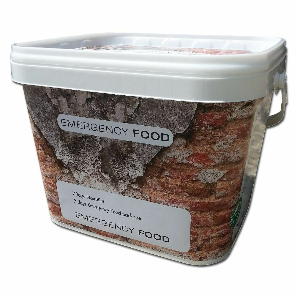 Katadyn Outdoor-Notnahrung 7 Tage Lebensmittel Notration Notvorrat