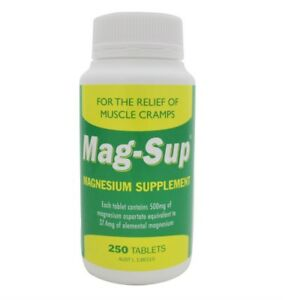 MAG-SUP-MAGNESIUM-SUPPLEMENT-250-TABLETS-500MG-RELIEVES-MUSCLE-CRAMPS-AND-ACHES