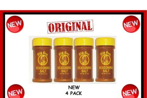 4 Bobs ORIGINAL BIG BOY Seasoning salt spice authentic LOT New great on wings @