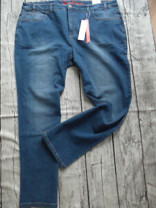 Sheego-Women-039-s-Jeans-Stretch-Trousers-Size-44-to-56-Blue-Denim-482-387-New