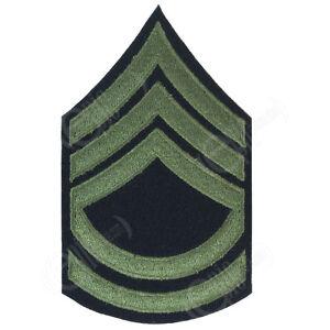 Technical Sergeant Stripes Olive Ww2 Repro American Rank