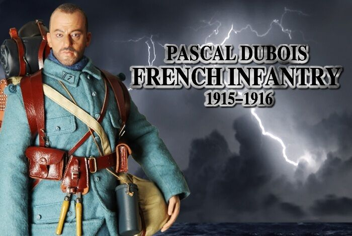 Dragón en sueños 1 6 escala WW I francés Pascal Dubois Infantería francés nuevo en caja