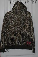 Womens Under Armour Coldgear Realtree Max 5 Camouflage Full Zip Hoodie Xl