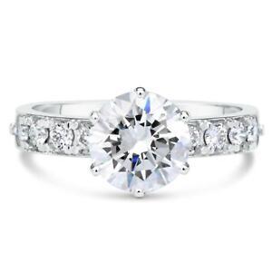 2-8-Carat-Round-Cut-Diamond-Engagement-Ring-SI1-D-White-Gold-14k-6203