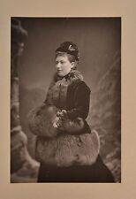 Fine 1890 Cabinet Card Portrait Photo Princess Helena Of UK Christian W&D Downey