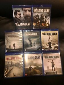 COFFRETS BLU-RAY  SERIE HORREUR ZOMBIES : THE WALKING DEAD : SAISONS 1 à 8