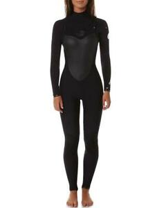 Rip-Curl-FLASHBOMB-3-2-GB-Womens-CHEST-ZIP-Steamer-Wetsuit-WSM4AG-Rrp-499-99
