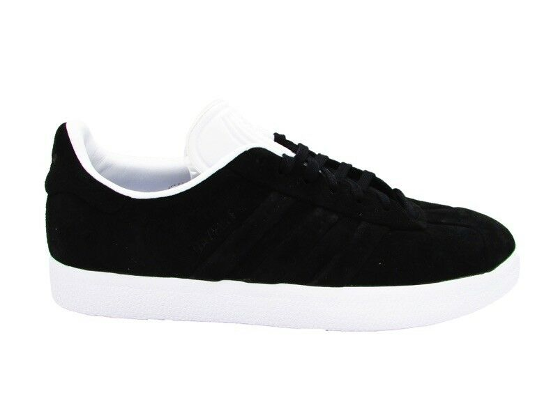 ADIDAS GAZELLE STICH AND TURN SNEAKERS BLACK WHITE CQ2358