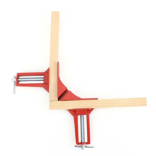 """4x angle droit Mitre coin Vice Cadre Photo Pince Mâchoire 3/"""" bricolage charpentier bois"""