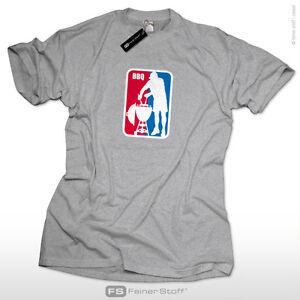 BBQ-League-T-Shirt-S-XXL-Liga-grillen-Barbecue-Grill-Schuerze-Koch-Fun-Kult-Gott