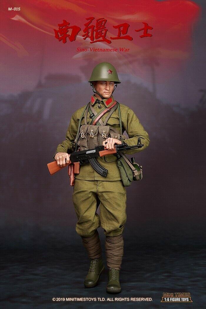 Mini Times giocattoli 16 M015 PLA SinoVietnamese War Male azione cifra Collectibles